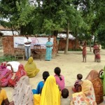 Not just a piece Implementation program at  Newada village Pindra varanasi