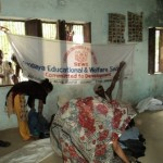 Cloth for work organized by SEWS in Newada village 3oth Aug 2011
