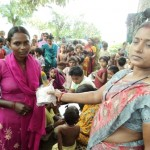NJPC 21st September 2011, Distribution of Napkin